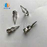 不锈钢铁片钩 喷漆弹簧片 电泳涂装设备挂具 铁条工字