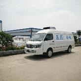 疫苗冷链运输车厂家直销 福田G7面包式药品运输车价格