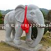 大理石如意大象雕塑 门口大象石雕