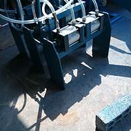 免烧砖专用简易码砖机福建厂家专业订做