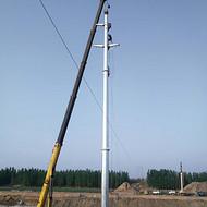 贵阳 35kv电力钢管塔 10kv电力钢管塔