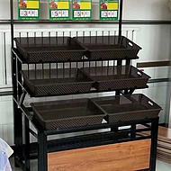 河南带框蔬菜架子超市蔬菜水果货架量大从优