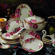 景德镇陶瓷餐具套装