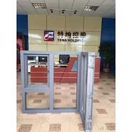 重慶特納特玻高層避難層防水鋼製防火窗廠家能通過消防認證