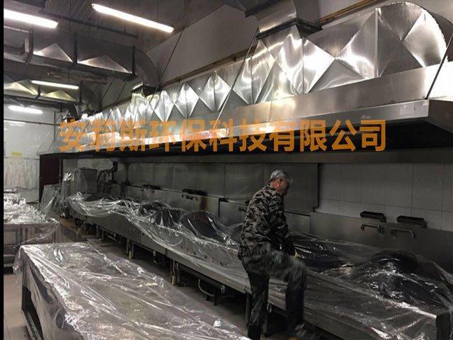 徐州油烟管道清洗服务 厨房油烟机清洗 清洗排油烟系统 (3)