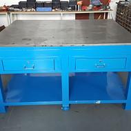 技校专用钳工实训桌/钢板包木学生钳工桌生产厂家