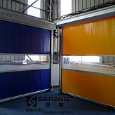 杭州工厂使用的快速卷帘门的配置
