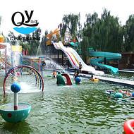 广州沁洋水上乐园设备厂家设计定制儿童游乐戏水小品儿童戏水游乐设备