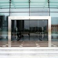 扬州自动门玻璃门平移门感应门对开门雷达门刷卡密码门