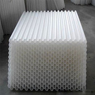 供应邯郸玻璃钢斜管填料 聚丙烯六角蜂窝斜管填料