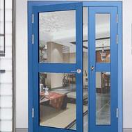 泉州不鏽鋼防火玻璃門 防火門窗廠家 有3C認證和防火標識