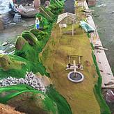 南昌工程學院農村生產場景沙盤