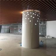 红河地铁专用包柱铝单板装潢厂家直销