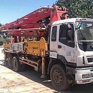 10年三一37米二手泵车46米二手泵车供应