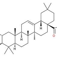 山楂酸98%  西安天资生物科技有限公司