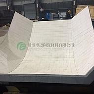 溜槽耐磨陶瓷衬板施工溜槽耐磨陶瓷衬板厂家