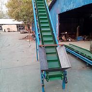 江阴水平挡边输送机 橡胶带运输机袋装物料