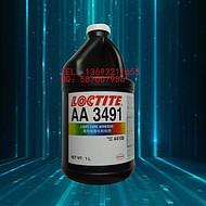 进口汉高 乐泰AA3491紫外线固化UV胶 loctite3491无影胶 1L