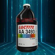 汉高乐泰AA3493U紫外线固化V胶 金属玻璃无影光学透明胶水 1L