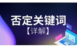SEM竞价账户篇●否定关键词详解 (5播放)