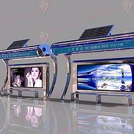 北京不锈钢异形太阳能候车亭,太阳能候车亭哪里最便宜,价格多少