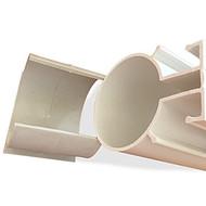 圆形塑料管 PVC颗粒