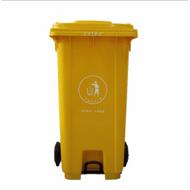 重庆塑料垃圾桶生产厂家 可定制加厚手推环卫垃圾桶报价