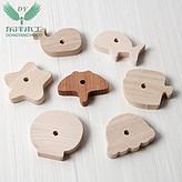 木制  优质小型鱼类仿真玩具 婴儿童益智玩具 可定制