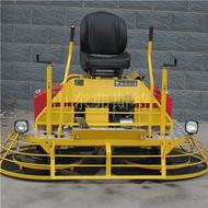 进口本田汽油动力的座驾式抹光机双抹盘效率高