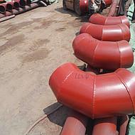 耐磨弯头甘肃兰州厂家定做 耐磨衬胶弯头及电厂配件、齐丰金属