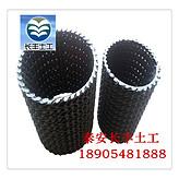 硬式透水管生产厂家,曲纹透水管介绍说明