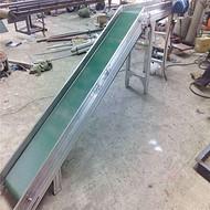 武汉1米带宽双槽钢主架托辊皮带输送机88