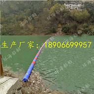 水电站拦污浮筒_水库塑料拦污浮体