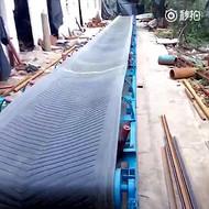 煤面用输送机 玉米散粮装车皮带输送机