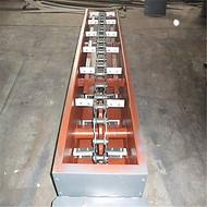 水泥粉封闭式刮板输送机   刮板链矿渣输送机