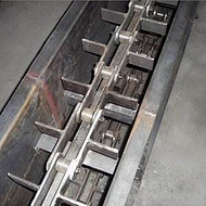 银川市矿用刮板输送机  冶金专用埋刮板输送机