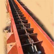 青铜峡市重型箱式刮板输送机  双板链刮板运料机