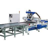 合肥市蓝象数控 双工位四工序加工中心开料机