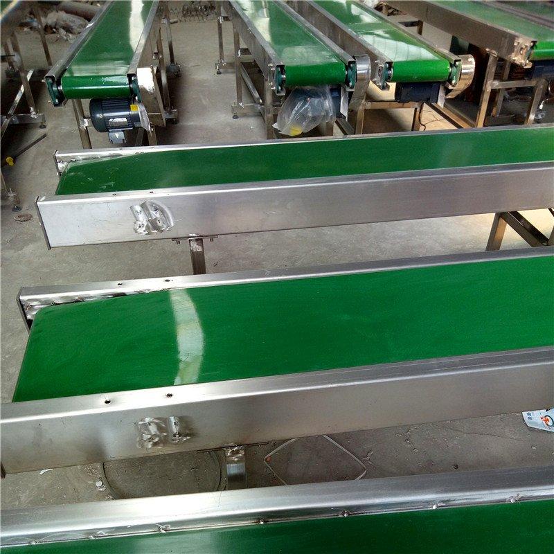 304不锈钢方管PVC皮带机