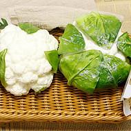 商场店铺户外展示仿真中号花菜 摄影道具美术静物写生PU仿真蔬菜