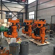 挖机抽沙泵 挖掘机清淤泵 解决无电施工难题