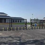 浙江杭州不锈钢升降柱,温州广场阻车路桩可升降