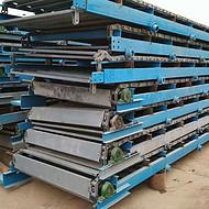 油漆桶用链板传送机  水平链板输送机