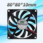 厂家直销莱斯科特8010散热风扇 轴流风机 汽车风扇