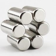 钕铁硼强力磁铁 磁柱 大小圆柱形磁棒 磁块定做加工 NdFeB magnet