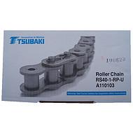椿本滚子链条RS40-1-RP-U日本TSUBAKI传动链4分单排链现货销售