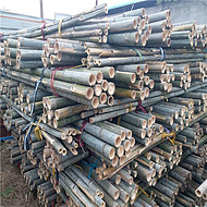 大量批发绿化支撑杆 2米、2.5米、3米粗竹竿