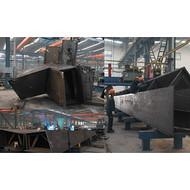 异型箱体钢结构热镀锌
