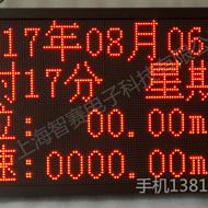 专业定制4-20ma模拟量LED生产看板 PLC MODBUS电子显示屏