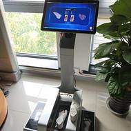 人体足部三维激光扫描仪,鞋类鞋垫定制生产,门店导购采集数据
